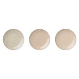 Bloomingville Cecile Teller rose/grau (Ø20cm; 3er Set) -