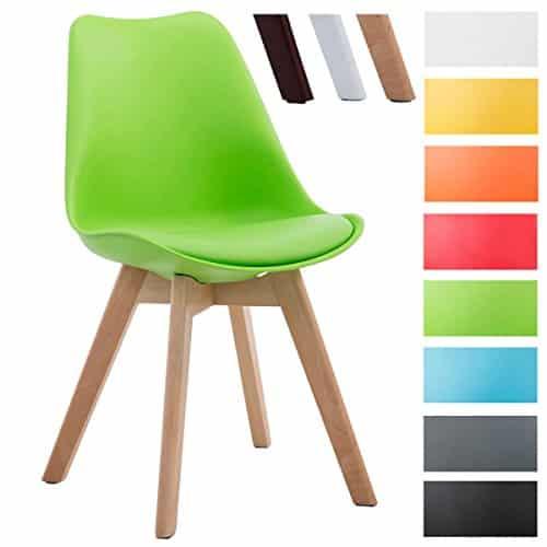 clp design retro stuhl borneo v2 besucherstuhl mit. Black Bedroom Furniture Sets. Home Design Ideas