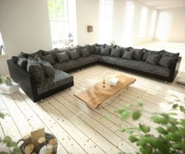 DELIFE Wohnlandschaft XXL Clovis in verschiedenen Farben, optional mit Hocker & Armlehne | Sofa, Big Sofa, modular, Design Wohnlandschaften, Couch Loft, Modulsofa, modular