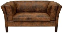 Kare 77566 Sofa Canapee 2-Sitzer Vintage Eco -