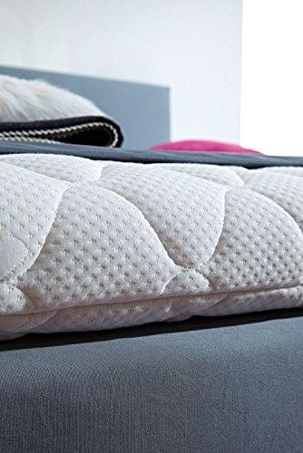 luxus boxspringbett rockstar 9cm topper welcon 140x200 64 farben erh ltlich in h1 h2 h3. Black Bedroom Furniture Sets. Home Design Ideas