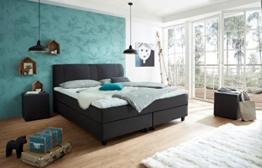 Luxus Boxspringbett ROCKSTAR CONVEX WELCON 160x200 22 Farben erhältlich H1 H2 H3 H4 H5 (rechts und links beliebig kombinierbar) reduziert direkt vom Hersteller ohne Zwischenhandel -