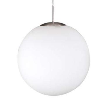QAZQA Modern Esstisch / Esszimmer / Pendelleuchte / Pendellampe / Hängelampe / Lampe / Leuchte Ball 40 / Innenbeleuchtung / Wohnzimmer / Schlafzimmer Glas / Metall / Rund / Kugel / Kugelförmig / LED geeignet E27 Max. 1 x 60 Watt -