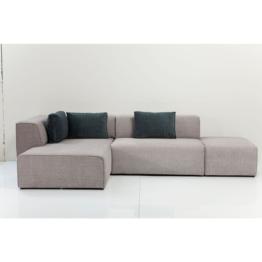 Sofa Infinity Soft Ottomane Grau Links