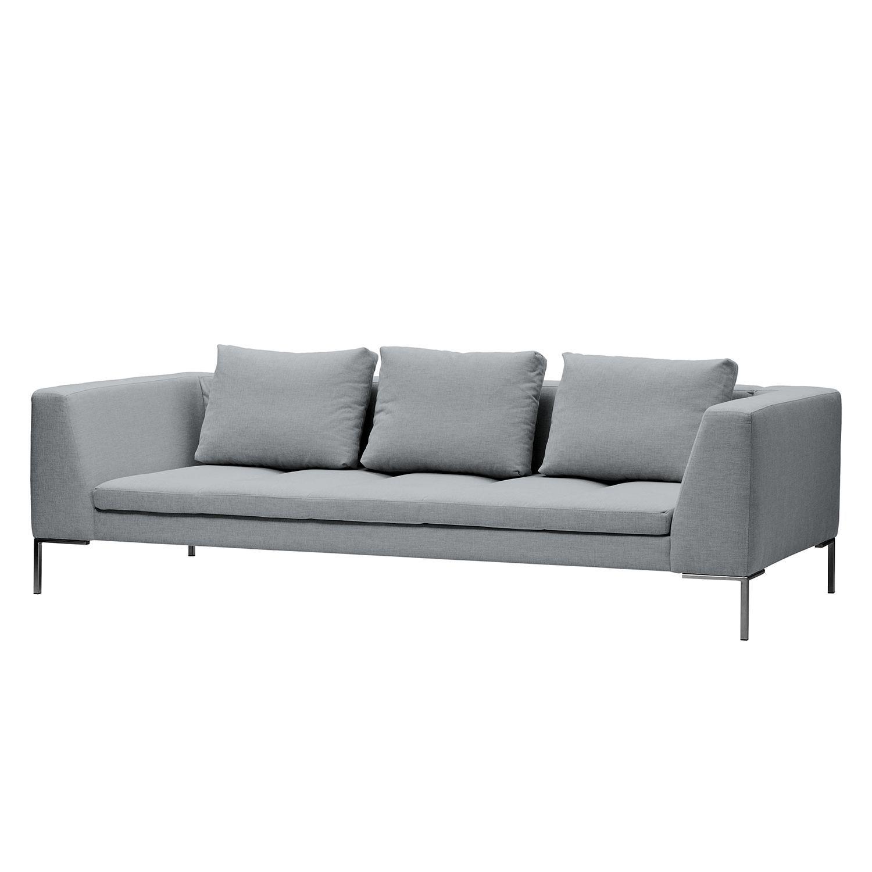 sofa madison 3 sitzer webstoff stoff saia hellgrau. Black Bedroom Furniture Sets. Home Design Ideas