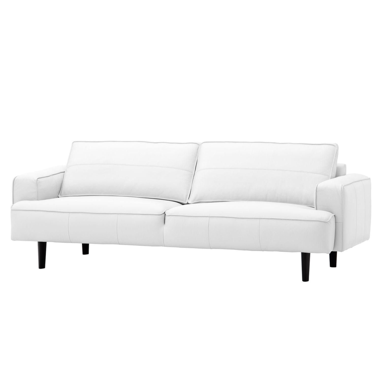 sofa navona 3 sitzer echtleder schwarz echtleder. Black Bedroom Furniture Sets. Home Design Ideas