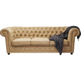 Sofa Oxford 3-Sitzer Terra Braun