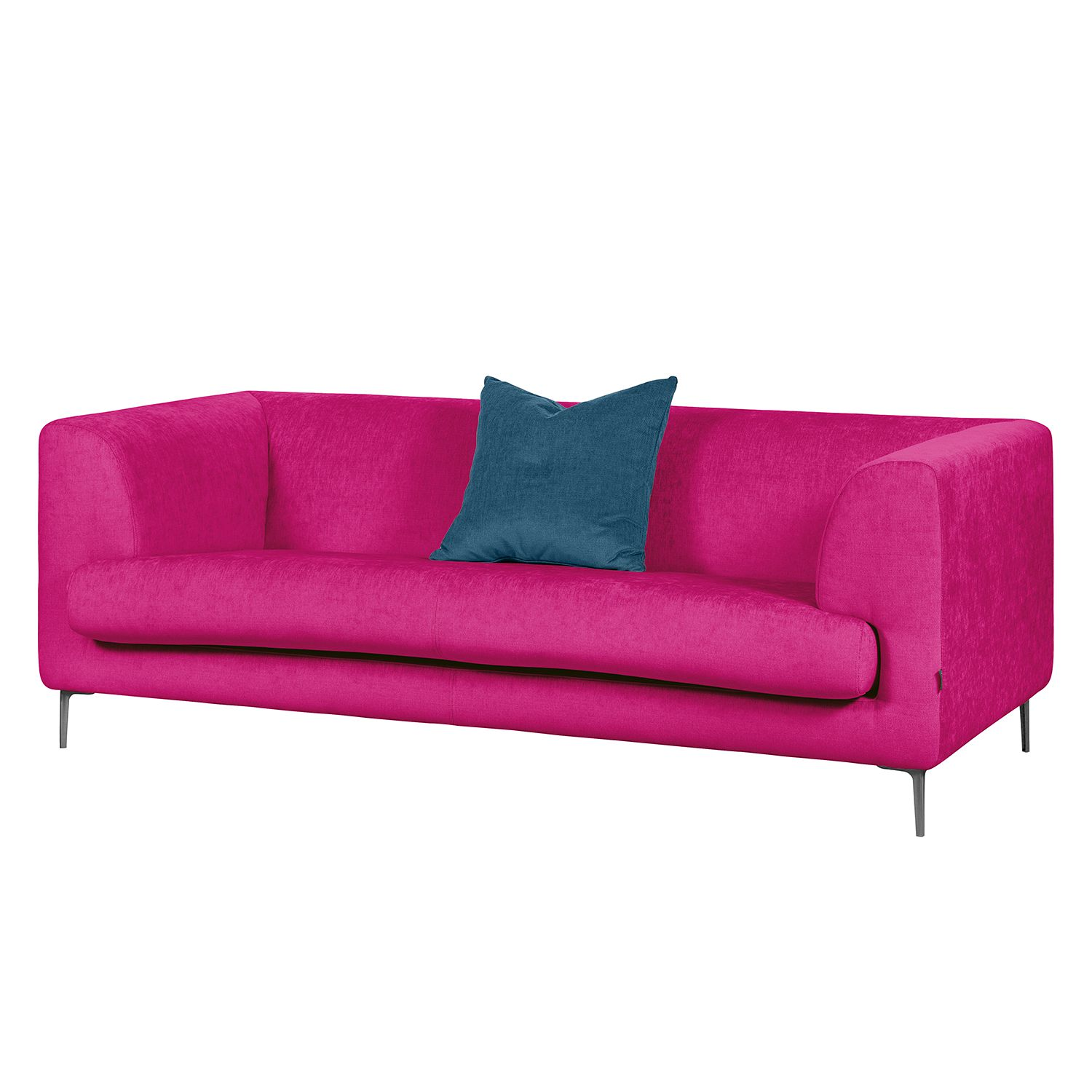 sofa sombret 2 5 sitzer webstoff pink. Black Bedroom Furniture Sets. Home Design Ideas