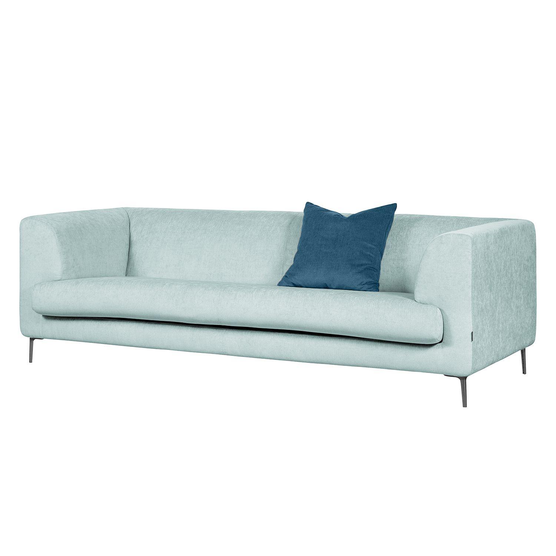 sofa sombret 3 sitzer webstoff hellblau m bel24. Black Bedroom Furniture Sets. Home Design Ideas