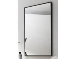Spiegel Badezimmer Wand Kosmetikspiegel Gästebadspiegel Posseik Alexo anthrazit