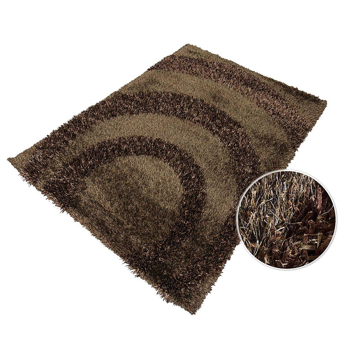 teppich hochflor design braun 160 x 230 cm home24 deko. Black Bedroom Furniture Sets. Home Design Ideas