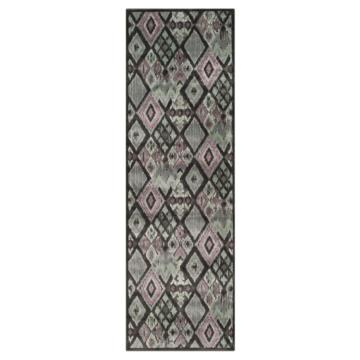 Teppich Salma - Anthrazit - 73 x 228 cm, Safavieh