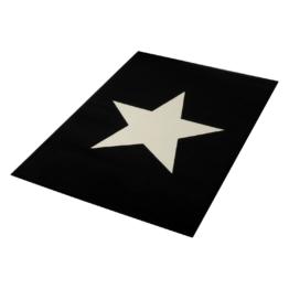 Teppich Stern II - Schwarz, Hanse Home Collection