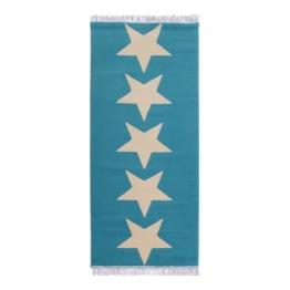 Teppich Sterne II - Blau, Hanse Home Collection