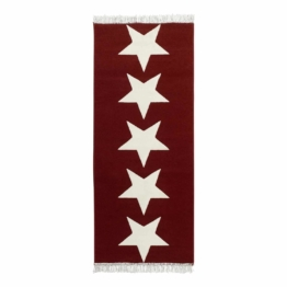 Teppich Sterne II - Rot, Hanse Home Collection