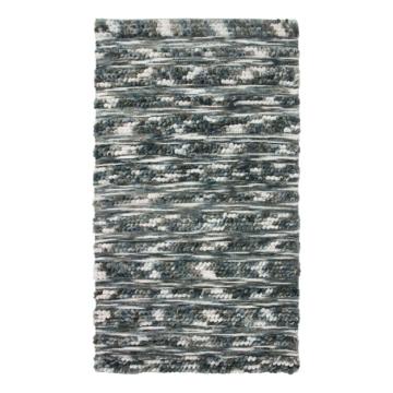 Teppich Udby - Mischgewebe - Blau, mooved