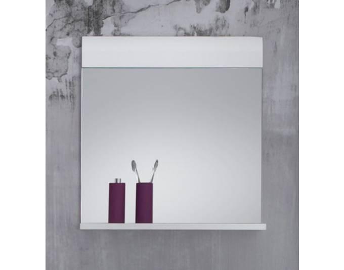wandspiegel badm bel skin hochglanz wei ge1119 05. Black Bedroom Furniture Sets. Home Design Ideas