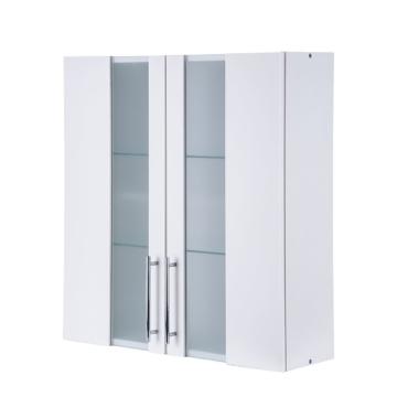 Hängeschrank Rocco- 2 Türen - Weiß, Kesper Badmöbel