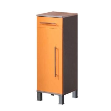 Unterschrank Ponza- 1 Tür - Orange, Kesper Badmöbel