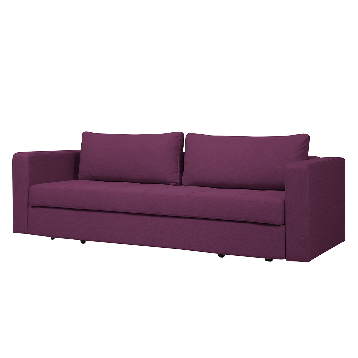 schlafsofa eperny webstoff stoff zahira aubergine fredriks. Black Bedroom Furniture Sets. Home Design Ideas