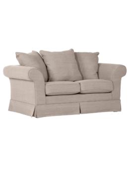 2-Sitzer Sofa beige