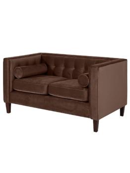 2 Sitzer Sofa Max Winzer braun