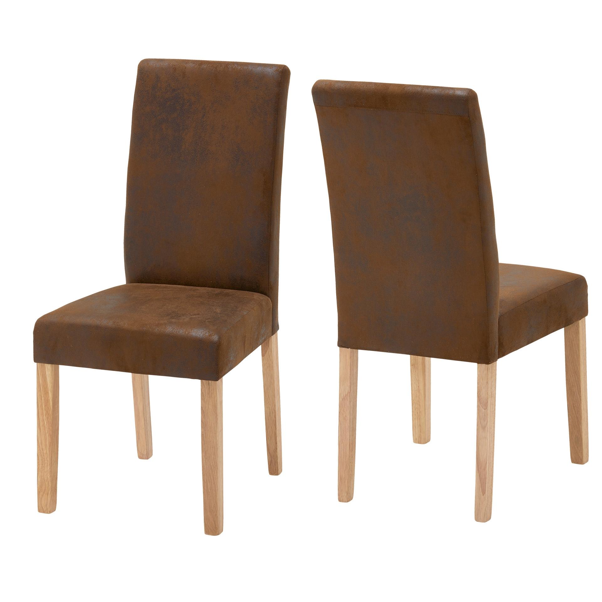 2er set polsterstuhl tureby braun. Black Bedroom Furniture Sets. Home Design Ideas