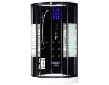 Dampfdusche Duschkabine Dusche Fertigdusche Duschtempel Dampfbad Dampfsauna ESG Sauna Komplett-Dusch