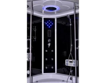 Dampfdusche Whirlpool Duschkabine Fertigdusche Duschtempel Eckbadewanne Sauna Dusche mit Dampf Dus