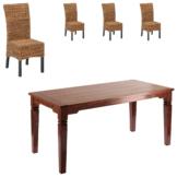Essgruppe Cuba/Rio (90x140, 4 Stühle)