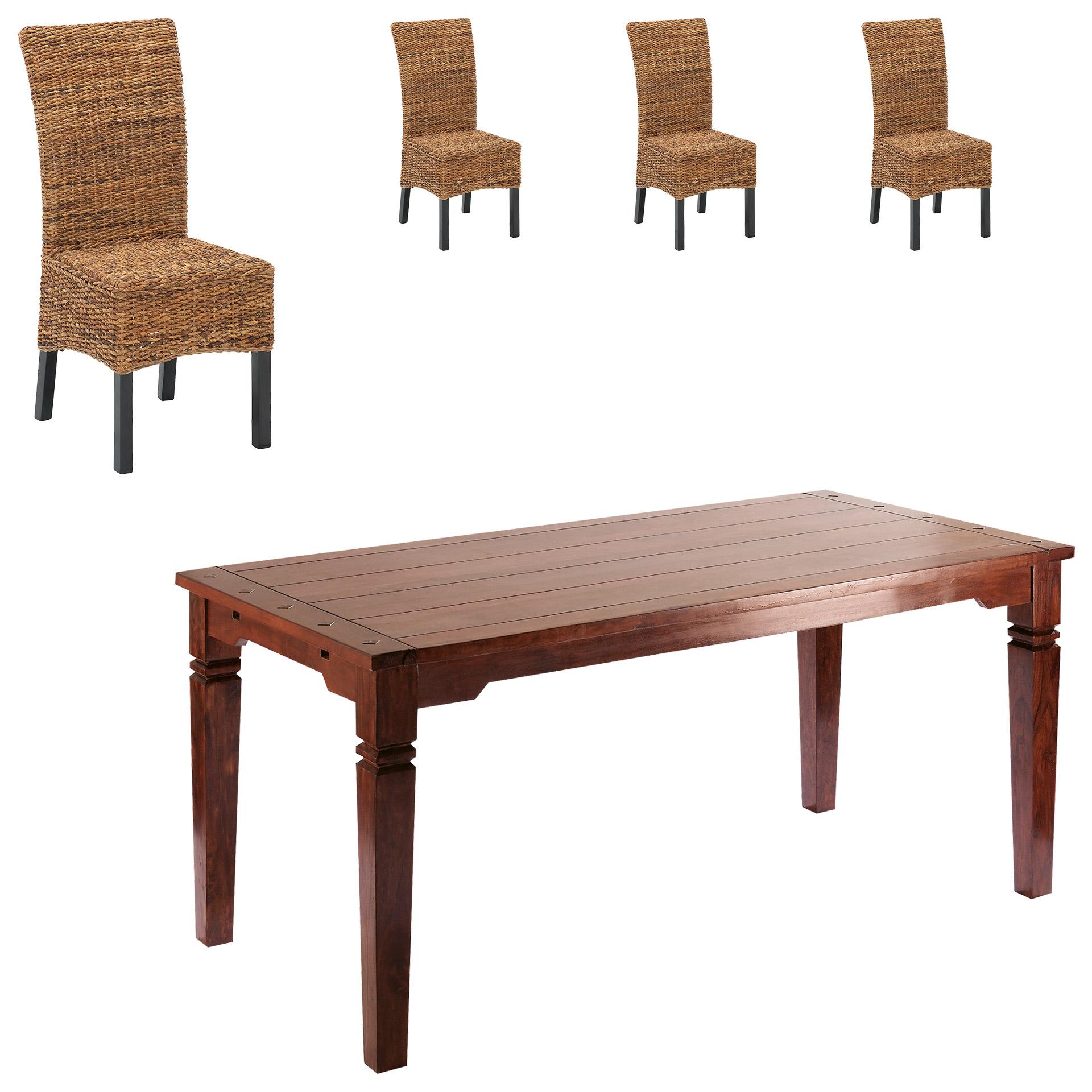 essgruppe cuba rio 90 140 4 st hle. Black Bedroom Furniture Sets. Home Design Ideas