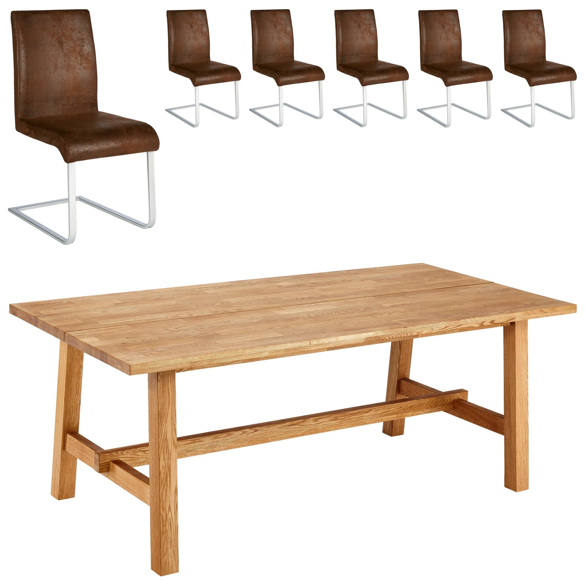 essgruppe lendrup move 200 95 6 st hle antik. Black Bedroom Furniture Sets. Home Design Ideas