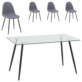 Essgruppe Nordborg/Tistrup (80x140, 4 Stühle)