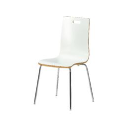 Esszimmerstuhl Fyn (weiß, Design)