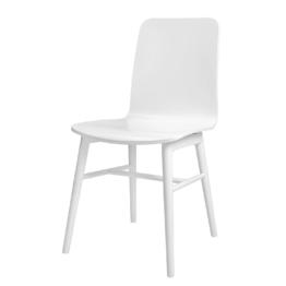 Esszimmerstuhl Terrence (4er-Set) - Weiß, Tenzo
