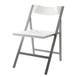 Esszimmerstuhl Zepedeus (2er-Set) - Kunststoff - Weiß, mooved
