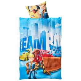 Kinderbettwäsche Team Bob (135x200)