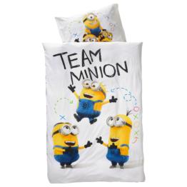 Kinderbettwäsche Team Minion (135x200)