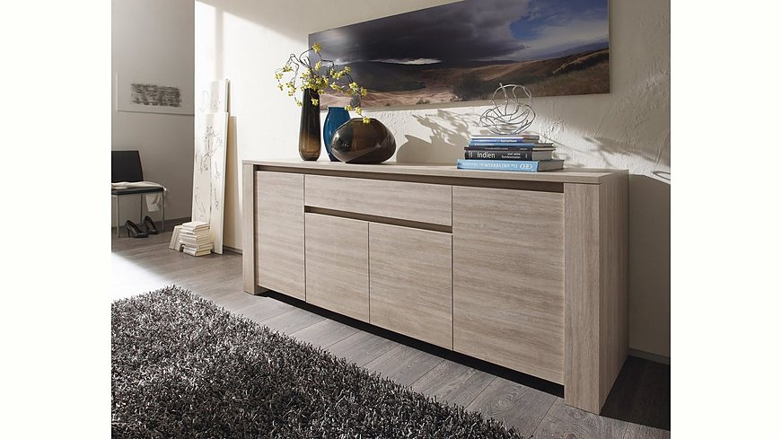 lc sideboard breite 210 cm. Black Bedroom Furniture Sets. Home Design Ideas