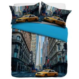 Linon-Bettwäsche New York (135x200, Digitaldruck)