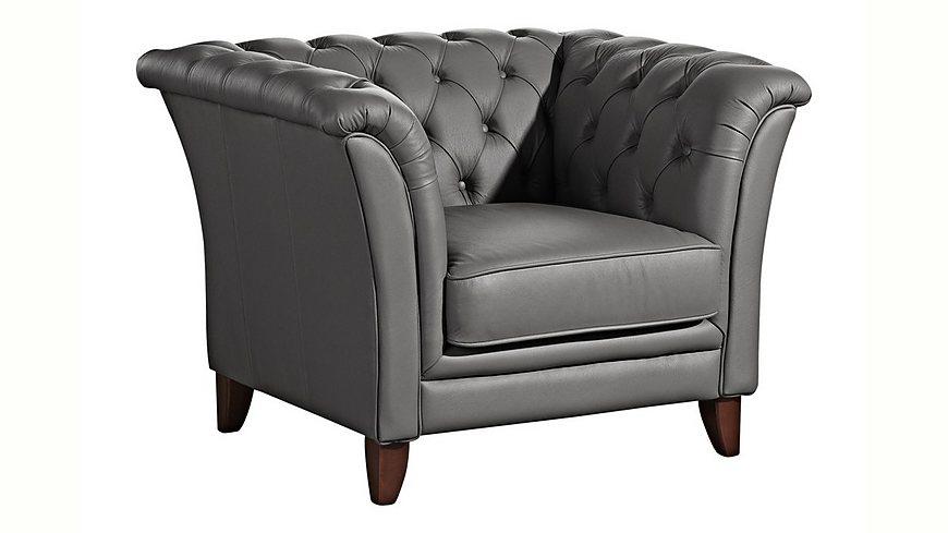 max winzer chesterfield sessel new castle mit edler. Black Bedroom Furniture Sets. Home Design Ideas