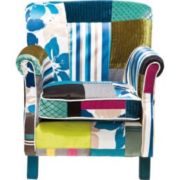 Sessel Patchwork Stripes