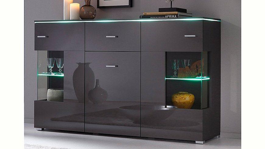 sideboard breite 150 cm m bel24. Black Bedroom Furniture Sets. Home Design Ideas
