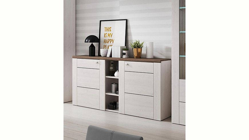 sideboard breite 155 cm m bel24. Black Bedroom Furniture Sets. Home Design Ideas