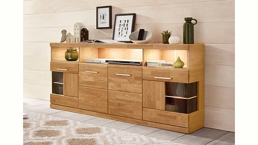 sideboard breite 180 cm. Black Bedroom Furniture Sets. Home Design Ideas