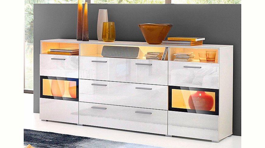 sideboard breite 182 cm. Black Bedroom Furniture Sets. Home Design Ideas