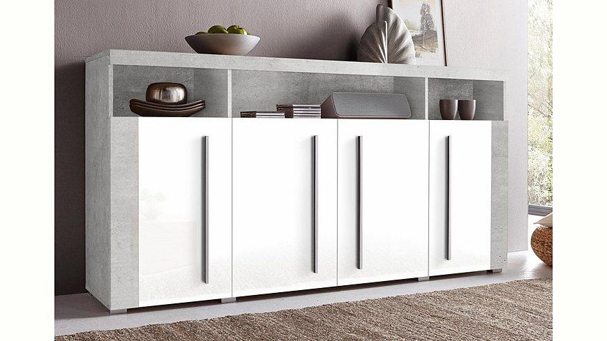 sideboard breite 182 cm m bel24. Black Bedroom Furniture Sets. Home Design Ideas