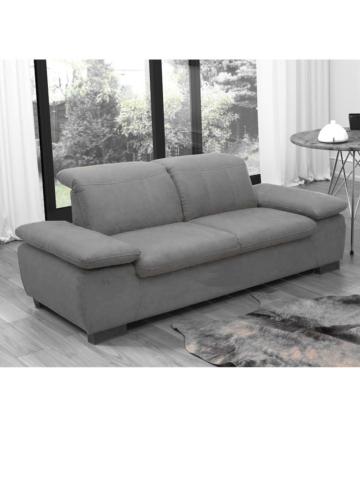 Sofa Malaga (2-Sitzer) DOMO Grau