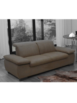 Sofa Malaga (2-Sitzer) DOMO Taupe
