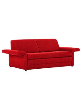 Sofa mit Schlaffunktion Rot
